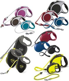 Flexi tape & cord retractable dog #leads, all #styles #vario,classic,neon,giant,  View more on the LINK: http://www.zeppy.io/product/gb/2/271152387414/