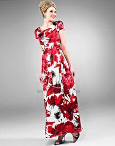 Landa Modest Bridesmaid Dresses - Style AB117