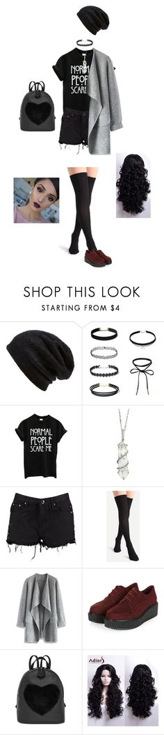 """""""grunge"""" by dance4ever1222 ❤ liked on Polyvore featuring Barefoot Dreams, Sharon Khazzam, Boohoo and Chicwish"""