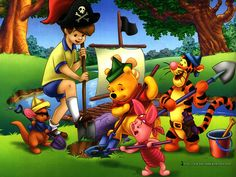 *WINNIE THE  POOH ~ pirates by Elysia in Wonderland