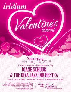 jazz valentine's day nyc
