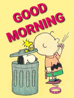 Good Morning Gif Disney, Funny Good Morning Quotes, Charlie Brown Quotes, Charlie Brown And Snoopy, Feeling Quotes, Iphone Wallpaper Sky, Snoopy Pictures, Deep Thought Quotes, Morning Pictures