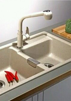 PAINTED KITCHEN SINK MIXER