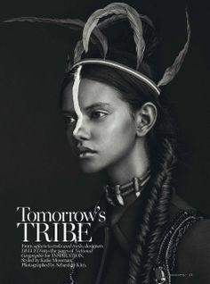 donna karan ads | Smile: Marina Nery in Vogue Australia April 2014 by Sebastian Kim