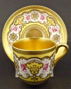 Insects And Bird Available In Various Designs And Specifications For Your Selection Hand Painted Floral Delicious Antique C19th Tea Cup