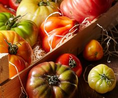 Tomatoes aren't always round, nor red…