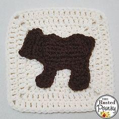 Ravelry: Bear Applique pattern by Lisa Rode