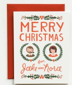 Cute Christmas cards by Rifle Paper co.