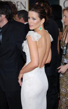 Kate Beckinsale ~Dress and Earrings
