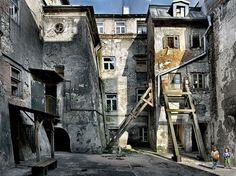 Derelict building by henrietta