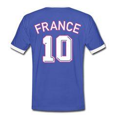 Découvrez notre maillot numéro 10 pour pratiquer le football et supporter l'équipe de France même sans maillot