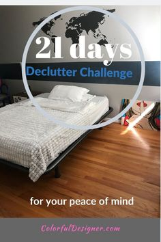21 days declutter challenge to an organized home. one step after the other to a decluttered home. Getting Rid Of Clutter, Home Selling Tips, Declutter Your Home, Small Furniture, Easy Home Decor, Spring Cleaning, Cleaning Hacks, Decorating Your Home, Home Accessories
