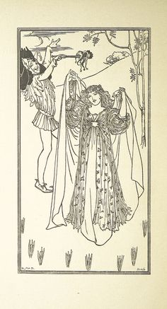 Image taken from page 4 of 'The Riddle. A pleasant pastoral comedy adapted from The Wife of Bath's Tale as it is set forth in the Works of Master Geoffrey Chaucer. Presented at Otterspool on Midsummers Eve, 1895' | Flickr - Photo Sharing!