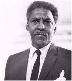 Bayard Rustin was also a speech writer for Martin    Luther King, jr. and one of the first openly gay   African Americans in public life.