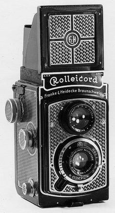 """Rolleicord I Model 1 """"Art Deco Rollei"""""""