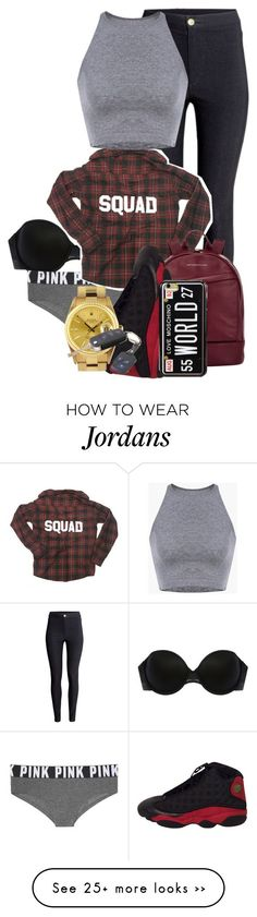 """Driving to Hell"" by madison302 on Polyvore featuring Addiction, H&M, Victoria's Secret, Want Les Essentiels de la Vie, Rolex and Love Moschino"