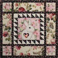 Pattern Easy Applique Bunny Baby Quilt Applique Bunny | Etsy