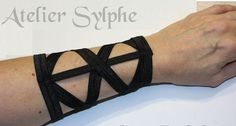 Hey, I found this really awesome Etsy listing at https://www.etsy.com/listing/478484241/armlet-in-black-color-x-style-wristband