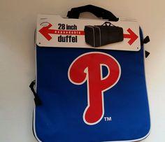 Duffle Bag Philadelphia Phillies 28 Bag MLB Gym Travel Team Luggage Tote d1b5524ae4191
