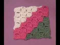 Πλεκτη Κουβερτα απο Γωνια σε Γωνια/ Crochet Corner to Corner Blanket