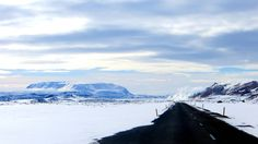 Facing Námafjall from the Krafla Power Station   North Iceland