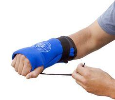 Muñeca fría tratamiento con vendas - Reduce el dolor de la muñeca y la hinchazón.  Cómodo de llevar y se adapta como un guante.  Permite la movilidad Si bien la formación de hielo, ligero y portátil.  Se puede usar en cualquier mano.  PI 300 por Pro hielo