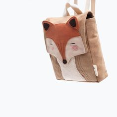 sac-fox-doux-comme-application/ - The world's most private search engine Sacs Tote Bags, Toddler Backpack, Baby Backpack, Diy Sac, Animal Bag, Backpack Pattern, Diy Handbag, Zara Kids, Diy Bags