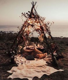 table setting similar to this, just minus the teepee.- table setting similar to this, just minus the teepee. table setting similar to this, just minus the teepee.