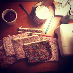 stormy weather equals making flower power purses. Lofoten, Norway <3