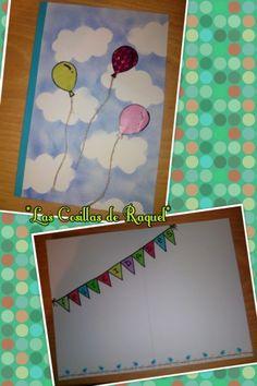 tarjeta cumpleaños globos