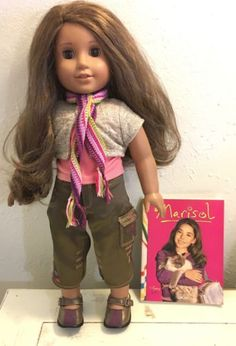 New American Girl Marisol/'s Crochet SCARF From Meet Outfit Lindsey Lanie McKenna