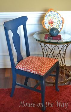 Preparing to give my new old kitchen table and chairs a face lift.