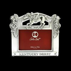 Arthur Court Designs Kentucky Derby Picture Frame  4X6 ** Read more home decor at the image link.