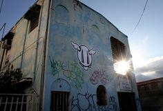 D*Face marks Puerto Rico #streetart #graffiti #DFace