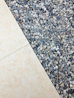 STONE & GRAVEL for a contemporary walled garden.  RS McDANNELL