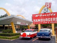 One of the first McDonalds, in FAir Lawn , NJ, were I grew up.  It looked just like this one, and I was told its in the Smithsonian,as they put up a new one years ago, sad.  Loved this one.