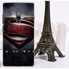 Carcasa plástica personalizada diseño superman para Oneplus two