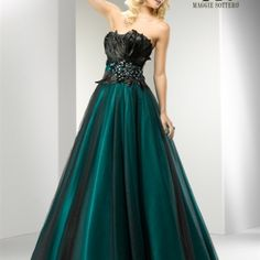 Feathered Ballgown 12007 from The Frock Boutique for $275.00 on Square Market