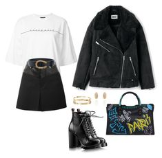 """""""#426"""" by meyerlina ❤ liked on Polyvore featuring G.V.G.V., Helmut Lang, Gucci and Cartier"""