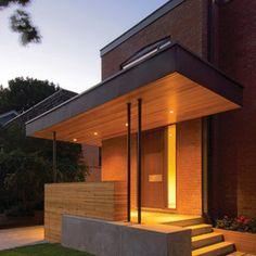 Contemporary Front Entrance Design Ideas