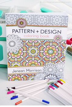 Pattern + Design Coloring Book.