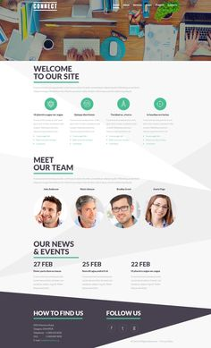 Joomla Theme , Communications Service Theme