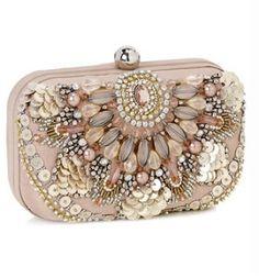 jeweled clutch by accessorize