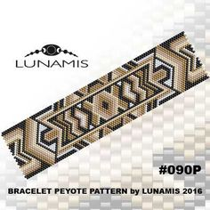 PATTERN ONLY. Create this beautiful peyote cuff bracelet. Miyuki Delica Beads size 11/0 Odd count with 5 bead colors. 29 bead columns by 91 bead rows. Width: 1.5 (3,9 cm) Length: 6.3 (16,1 cm) Patterns include: - Large colored numbered graph paper (and non-numbered in another files) - Bead legend (numbers and names of delica beads colors ) - Word chart - Pattern preview This pattern is intended for users that have experience with odd count peyote and the pattern itself does NOT inclu...