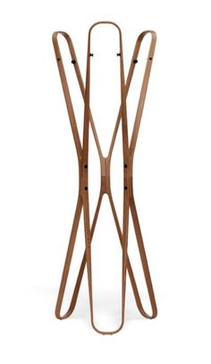 Coatrack Saturn by Barber & Osgerby for ClassiCon Cool Furniture, Modern Furniture, Furniture Design, Chair Design, Woodworking Furniture, Diy Woodworking, Free Standing Coat Rack, Art Nouveau, Wooden Arch