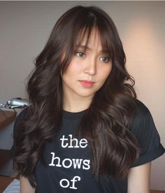 Kathryn Bernardo Hairstyle, Filipina Girls, Liza Soberano, Rapunzel, Hot Hair Styles, Hair Reference, Jenner, Beautiful Wife, Hair Looks
