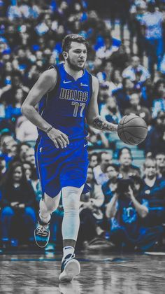 Luka Doncic wallpaper by IsraelSantanaArts - 61 - Free on ZEDGE™ Basketball Posters, Basketball Leagues, Basketball Shirts, Sports Basketball, Basketball Stuff, Lakers Wallpaper, Baskets, Nba Pictures, Nba League