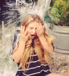 Thank you to all the Hunger Games fans who nominated me to participate in the ALS ice bucket challenge! Let me just say that it was SO COLD! @willowshields3
