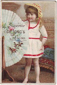 #Vintage #cocoa ad
