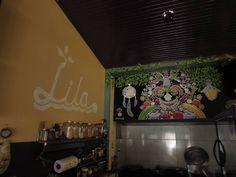 Los ingredientes de éste delicioso Restaurante no sólo  nutren los platillos, ahora también condimentan la obra artística que decora su cocina.
